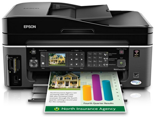 Best Printer With Cheap Ink >> Epson Workforce WF-7515 A3+ Printer Review
